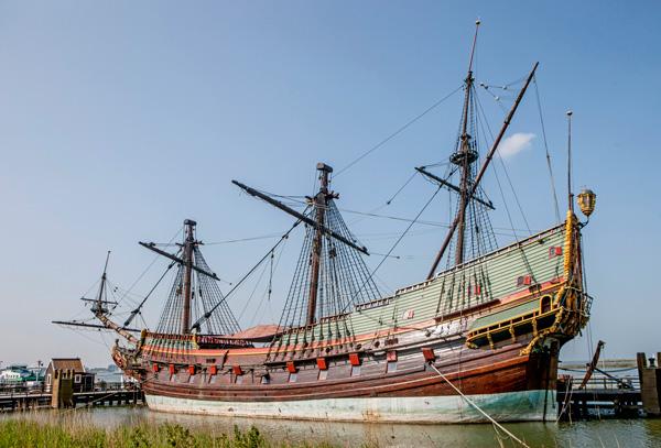 The Batavia ship