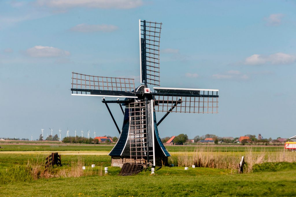 Small windmill Friesland